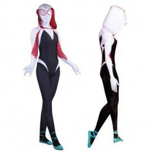 Spider Gwen Costume! JUST IN TIME FOR HALLOWEEN!